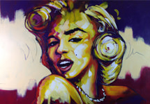 Great Marilyn  ('140x100')
